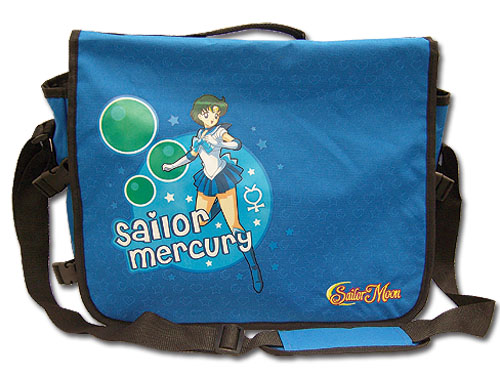 Sailormoon Sailor Mercury Messenger Bag, an officially licensed Sailor Moon Bag