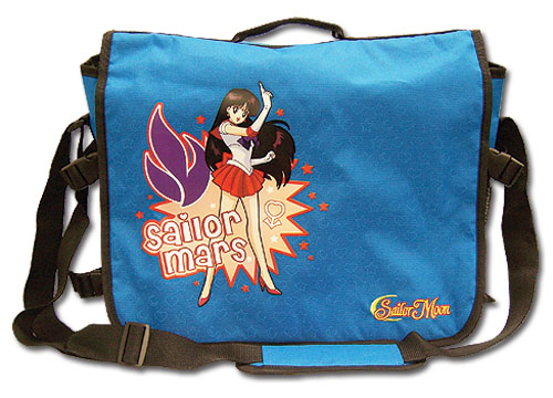 Sailormoon Sailor Mars Messenger Bag, an officially licensed product in our Sailor Moon Bags department.