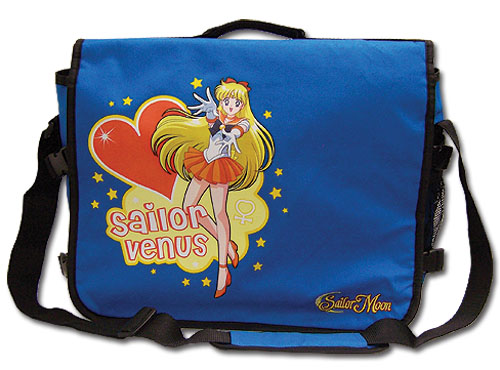 Sailormoon Sailor Venus Messenger Bag, an officially licensed product in our Sailor Moon Bags department.