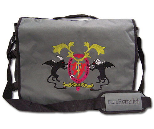 Blue Exorcist True Cross Order Messeger Bag, an officially licensed Blue Exorcist Bag
