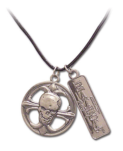 Death Note Skull Buckle Necklace, an officially licensed Death Note Necklace