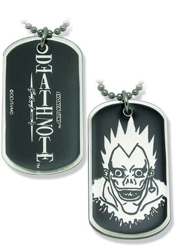 Death Note Ryuk Dog Tag, an officially licensed product in our Death Note Costumes & Accessories department.