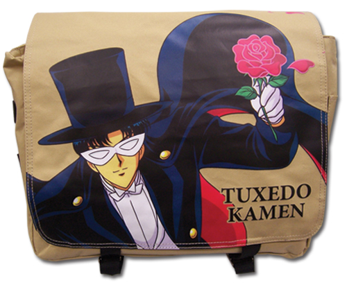 Sailor Moon - Tuxedo Kamen Messenger Bag, an officially licensed product in our Sailor Moon Bags department.