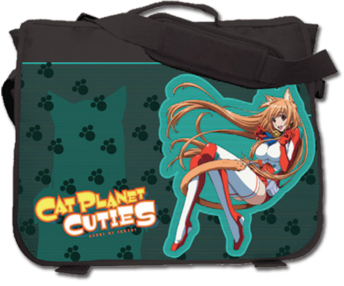 Cat Planet Cuties Eris Messenger Bag officially licensed product at B.A. Toys.