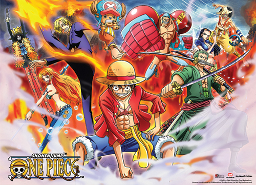 One Piece - Special Edition Wallscroll, an officially licensed product in our One Piece Wall Scroll Posters department.