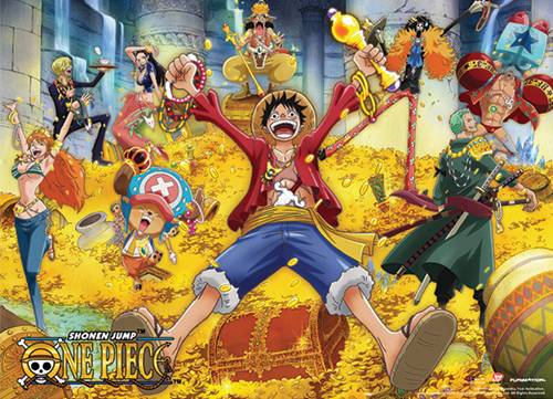 One Piece - Treasure Special Edition Wallscroll, an officially licensed product in our One Piece Wall Scroll Posters department.