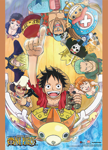 One Piece - On Board Special Edition Wallscroll, an officially licensed product in our One Piece Wall Scroll Posters department.