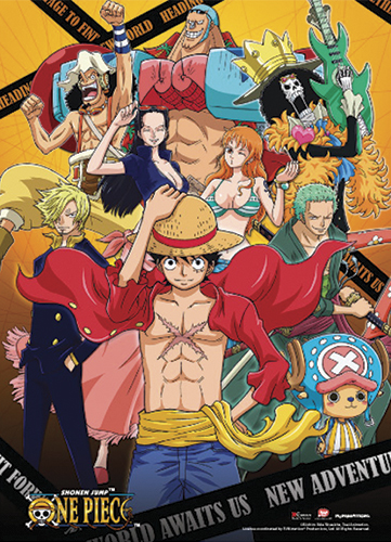 One Piece - New World Special Edition Wall Scroll, an officially licensed product in our One Piece Wall Scroll Posters department.