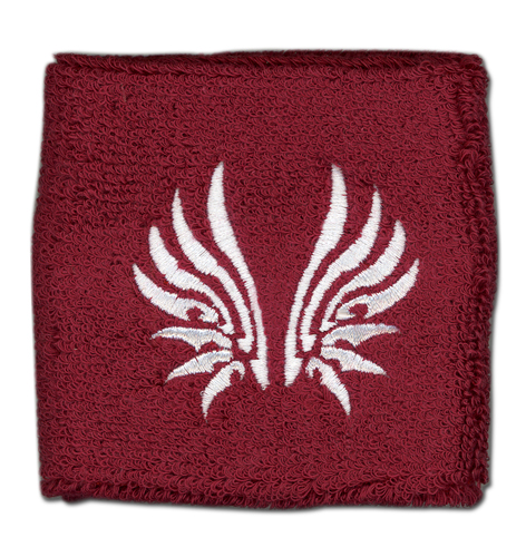 Tsubasa Wing Icon Embroidery Wristband, an officially licensed product in our Tsubasa Wristbands department.