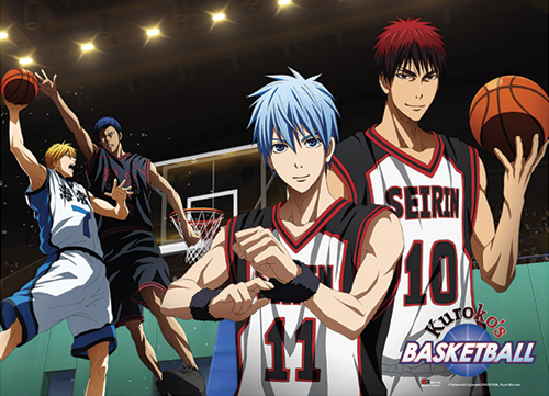 Kuroko's Basketball - Court Special Edition Wallscroll, an officially licensed product in our Kuroko'S Basketball Wall Scroll Posters department.