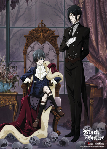 Black Butler - Key Visual Special Edition Wallscroll, an officially licensed product in our Black Butler Wall Scroll Posters department.