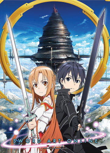 Sword Art Online - Key Visual 1 Special Edition Wallscroll officially licensed Sword Art Online Wall Scroll Posters product at B.A. Toys.