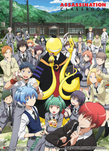 Assassination Classroom - Key Art 1 Special Edition Wall Scroll, an officially licensed product in our Assassination Classroom Wall Scroll Posters department.
