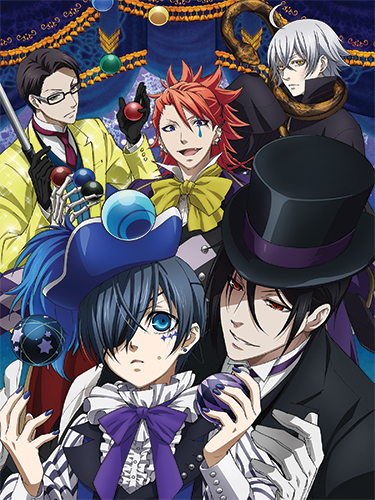 Black Butler B.O.C. - Group 1 Special Edition Wall Scroll, an officially licensed Black Butler Book Of Circus product at B.A. Toys.