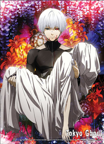 Tokyo Ghoul - Key Art 01 Special Edition Wall Scroll officially licensed Tokyo Ghoul Wall Scroll Posters product at B.A. Toys.