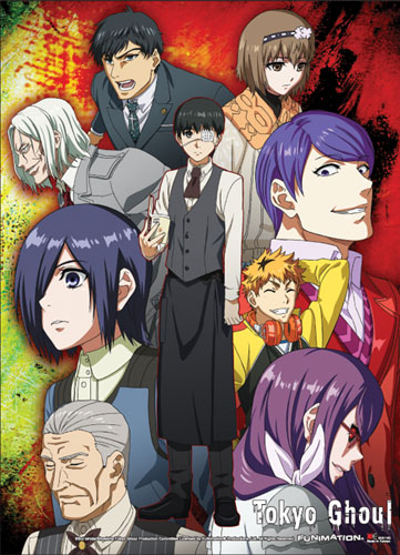 Tokyo Ghoul - Group 01 Special Edition Wall Scroll officially licensed Tokyo Ghoul Wall Scroll Posters product at B.A. Toys.