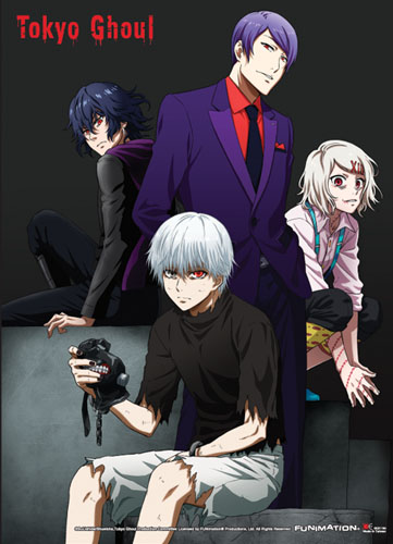 Tokyo Ghoul - Group 03 Special Edition Wall Scroll officially licensed Tokyo Ghoul Wall Scroll Posters product at B.A. Toys.