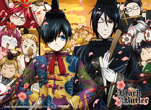Black Butler 2 - Group 2 Special Edition Wall Scroll, an officially licensed Black Butler product at B.A. Toys.