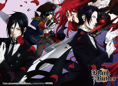 Black Butler 2 - Group 3 Special Edition Wall Scroll, an officially licensed product in our Black Butler Wall Scroll Posters department.