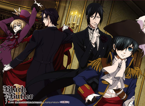 Black Butler 2 - Group 4 High-End Wall Scroll, an officially licensed product in our Black Butler Wall Scroll Posters department.