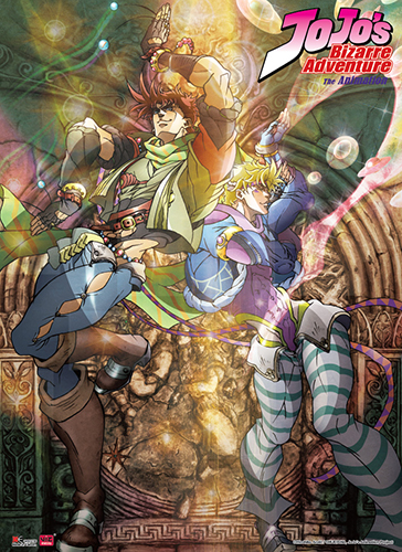 Jojo - Keyart 01 Special Edition Wall Scroll, an officially licensed product in our Jojo'S Bizarre Adventure Wall Scroll Posters department.