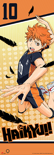 Haikyu!! - Shoyo Human Size Special Edition Wall Scroll, an officially licensed product in our Haikyu!! Wall Scroll Posters department.