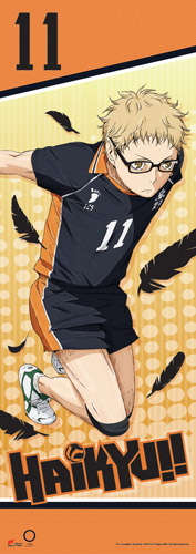 Haikyu!! - Tsukishima Human Size Se Wall Scroll, an officially licensed product in our Haikyu!! Wall Scroll Posters department.