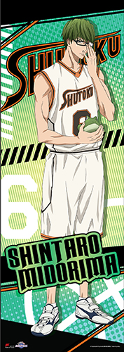 Kuroko's Basketball - Midorima Human Size Se Wall Scroll, an officially licensed product in our Kuroko'S Basketball Wall Scroll Posters department.