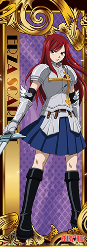 Fairy Tail - Erza Human Size Se Wall Scroll, an officially licensed product in our Fairy Tail Wall Scroll Posters department.