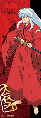 Inuyasha - Inuyasha Human Size Special Edition Wall Scroll, an officially licensed product in our Inuyahsa Wall Scroll Posters department.