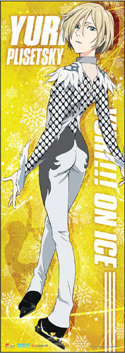 Yuri On Ice!!! - Yuri Human Size Wall Scroll, an officially licensed product in our Yuri!!! On Ice Wall Scroll Posters department.