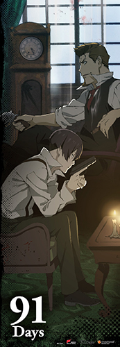 91 Days - Key Art Human Size Wall Scroll, an officially licensed product in our 91 Days Wall Scroll Posters department.