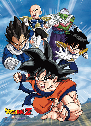 Dragon Ball Z - Group 1 High-End Wall Scroll, an officially licensed product in our Dragon Ball Z Wall Scroll Posters department.