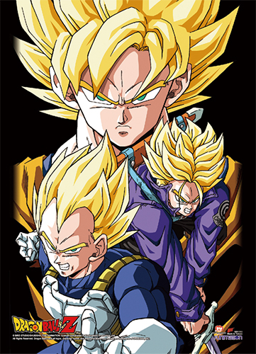 Dragon Ball Z - Group 2 High-End Wall Scroll, an officially licensed product in our Dragon Ball Z Wall Scroll Posters department.