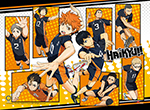 Haikyu!! - Group 2 High-End Wall Scroll, an officially licensed product in our Haikyu!! Wall Scroll Posters department.
