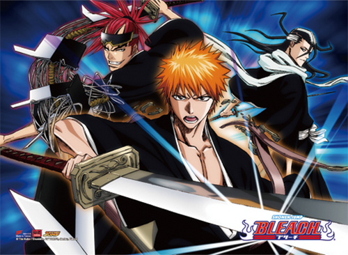 Bleach - Group 1 Hi-End Wall Scroll, an officially licensed Bleach product at B.A. Toys.