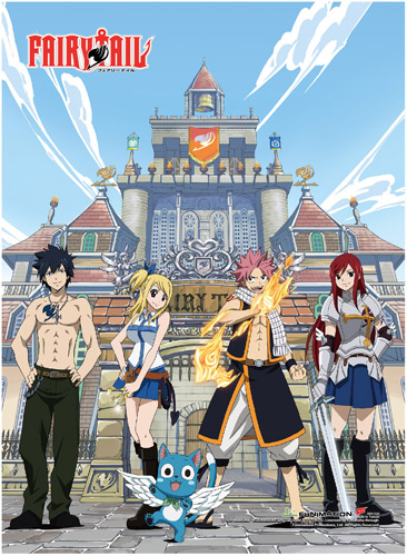 Fairy Tail - Group 1 Hi-End Wall Scroll, an officially licensed product in our Fairy Tail Wall Scroll Posters department.