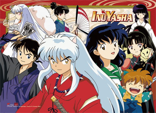 Inuyasha - Group 1 Hi-End Wall Scroll, an officially licensed product in our Inuyahsa Wall Scroll Posters department.