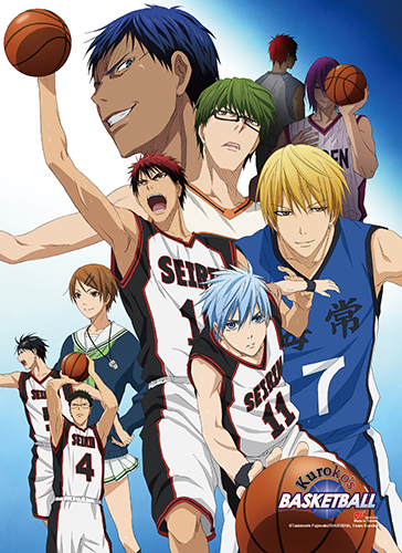 Kuroko's Basketball - Group 2 High-End Wall Scroll, an officially licensed product in our Kuroko'S Basketball Wall Scroll Posters department.