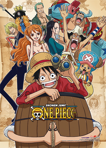 One Piece - Group 1 High-End Wall Scroll, an officially licensed product in our One Piece Wall Scroll Posters department.