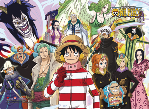 One Piece - Group 2 High-End Wall Scroll, an officially licensed product in our One Piece Wall Scroll Posters department.