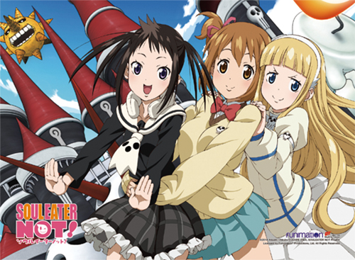 Soul Eater Not! - Group 2 High-End Wall Scroll, an officially licensed product in our Soul Eater Not! Wall Scroll Posters department.