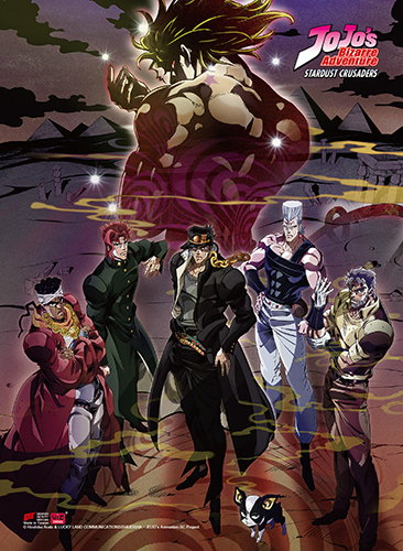 Jojo - S3 Group High-End Wall Scroll, an officially licensed product in our Jojo'S Bizarre Adventure Wall Scroll Posters department.