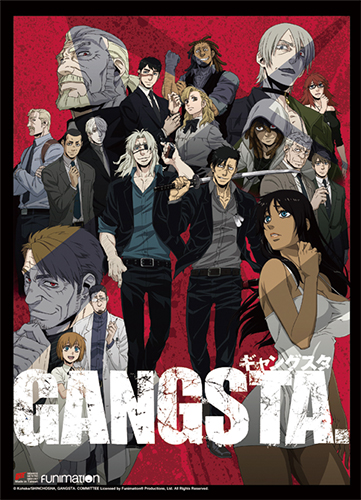 Gangsta - Key Art High-End Wall Scroll, an officially licensed product in our Gangsta Wall Scroll Posters department.