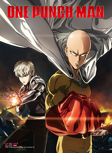 One Punch Man - Key Art 1 High-End Wall Scroll, an officially licensed product in our One-Punch Man Wall Scroll Posters department.