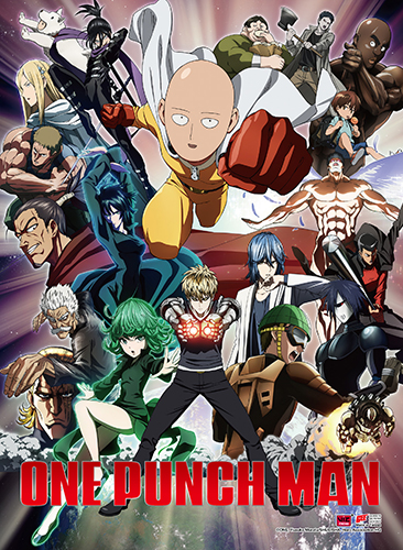 One Punch Man - Key Art 2 High-End Wall Scroll, an officially licensed product in our One-Punch Man Wall Scroll Posters department.