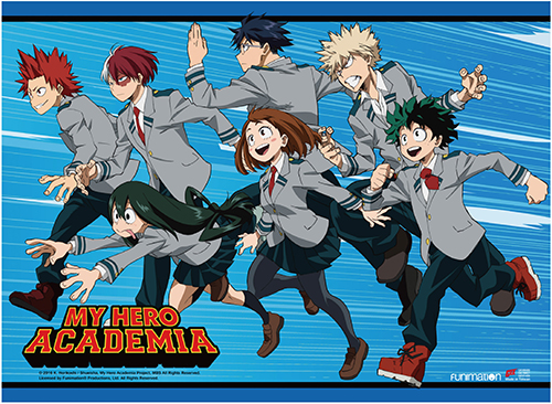 My Hero Academia - Key Art 2 High-End Wall Scroll, an officially licensed product in our My Hero Academia Wall Scroll Posters department.