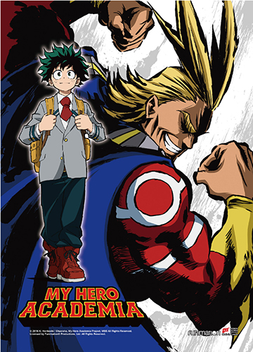 My Hero Academia - Key Art 3 High-End Wall Scroll, an officially licensed product in our My Hero Academia Wall Scroll Posters department.
