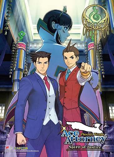 Ace Attorney officially licensed Ace Attorney Wall Scroll Posters product at B.A. Toys.