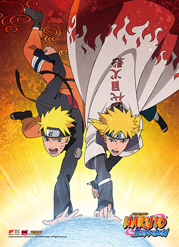 Naruto Shippuden - Naruto High-End Wall Scroll, an officially licensed product in our Naruto Shippuden Wall Scroll Posters department.